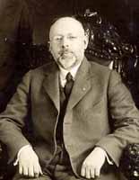 A photograph of Herbert E. Ives