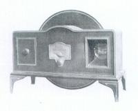 A Baird tin box Televisor, 1930