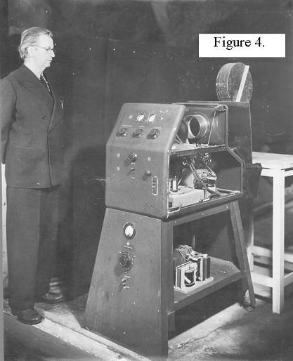 a photograph of Baird's fast facsimile apparatus